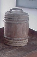 Keg Containing Flour