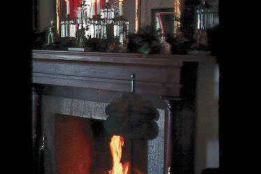Officers' Quarters Fireplace