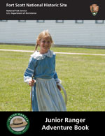 Cover for Junior Ranger Booklet for beginners