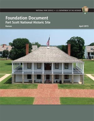 cover sheet of Foundation document, shows two story hospital building with brick walkways approaching building