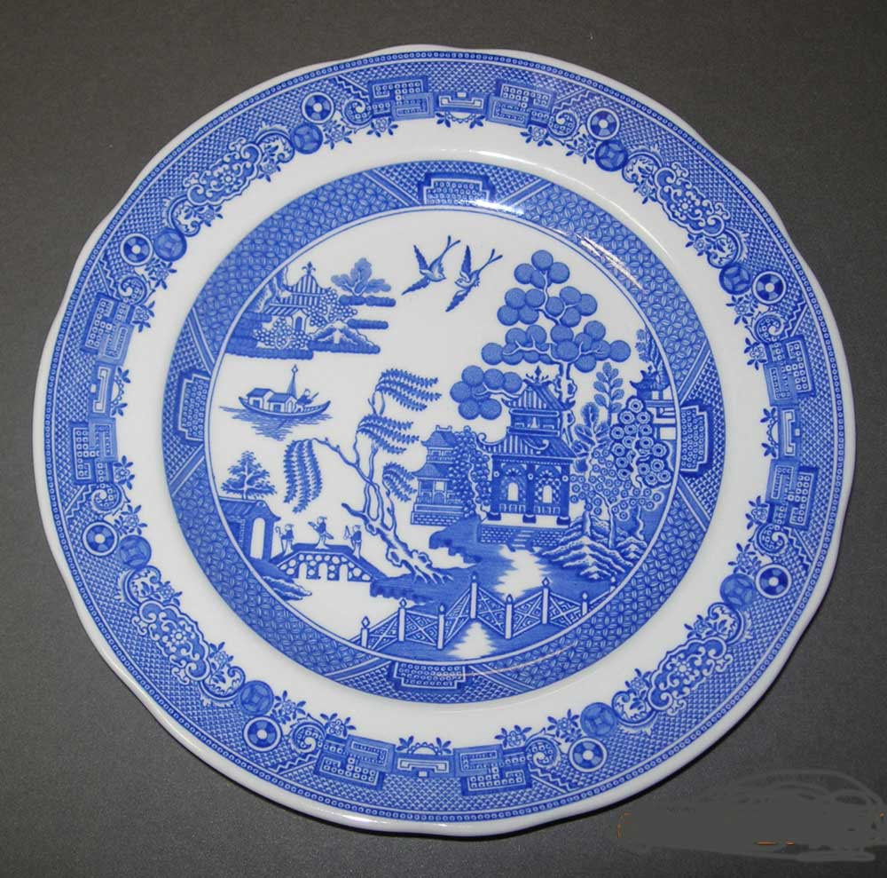 Click Here To See A Larger Image Of The Reproduction Plate It Will Open In New Window