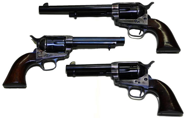 Colt Revolver 1873 1873 Colt Revolvers Flat
