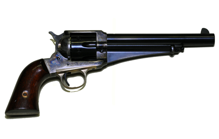1875 Remington Revolver Fort Smith National Historic