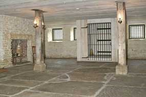 Visitors today can walk in the jail cell used by the federal court in the 19th century.