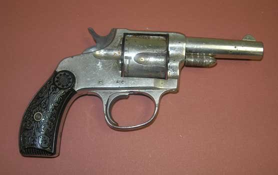 revolver owned by outlaw Bill Cook
