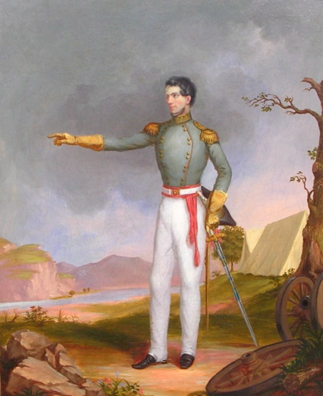 Major Stephen Long on the Rocky Mountain Expedition by Titian Peale (civilian artist)