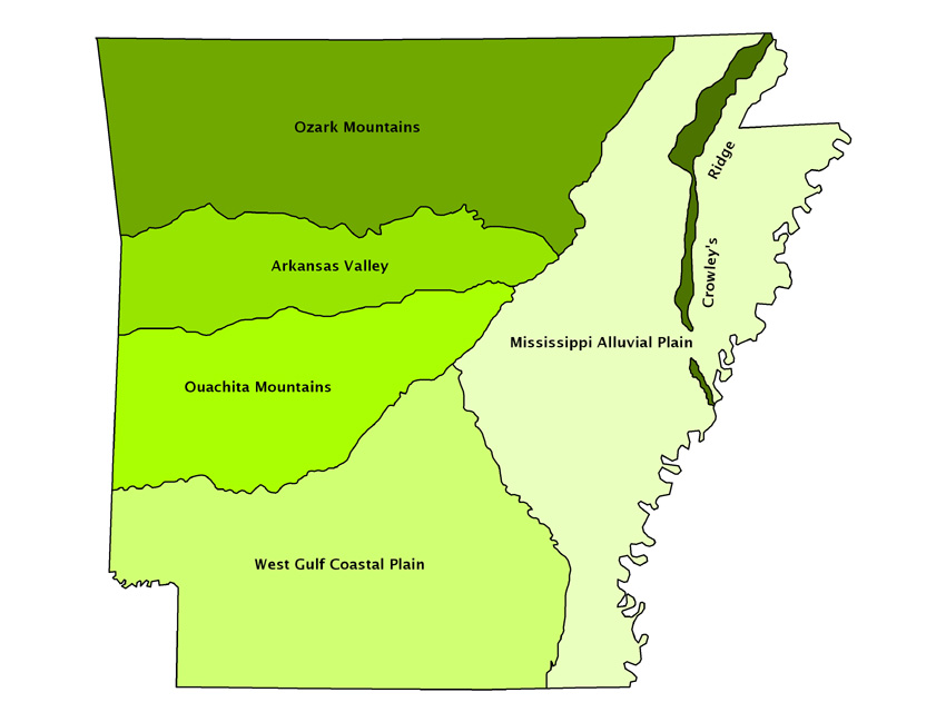 Geologic Map Of Arkansas Submited Images