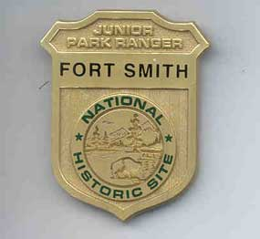 Fort Smith Junior Ranger Badge