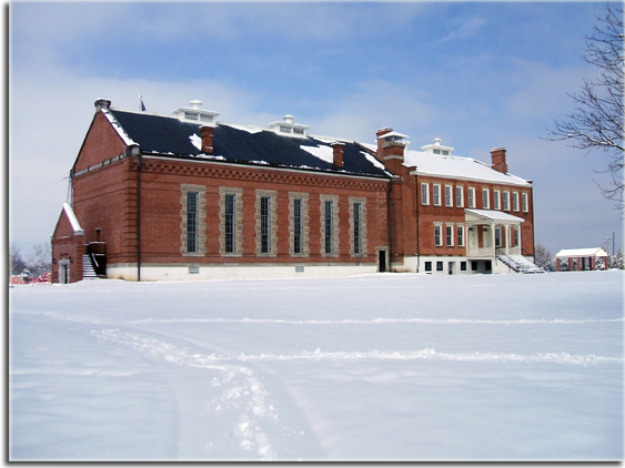 Snowy Courthouse