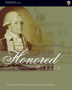 A sepia toned George Washinton graces the cover of an NPS education publication