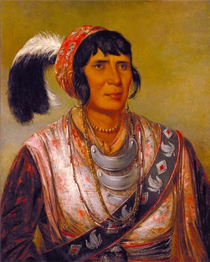 Painting of Osceola 1838