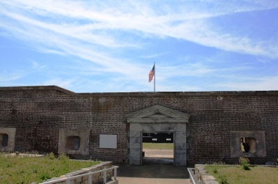 entrance to Fort Sumter