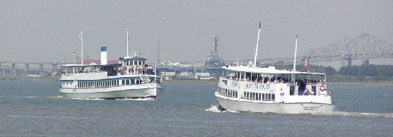 Fort Sumter ferries