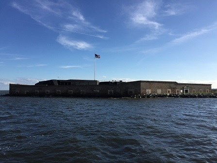 Fort Sumter from Fort Sumter Tours Boat