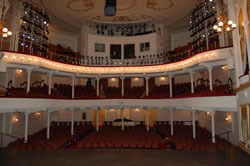 Interior of newly restored Ford's Theatre