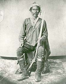 portrait of navajo leader barboncito