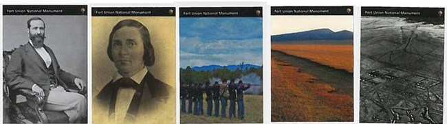 Civil War to Civil Rights Trading Cards of Fort Union National Monument