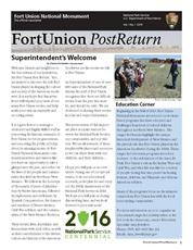 2015 Fort Union Post Return
