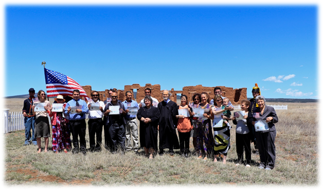 Citizenship Ceremonies - Partnerships (U S  National Park