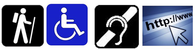 Accessibility Logo Images