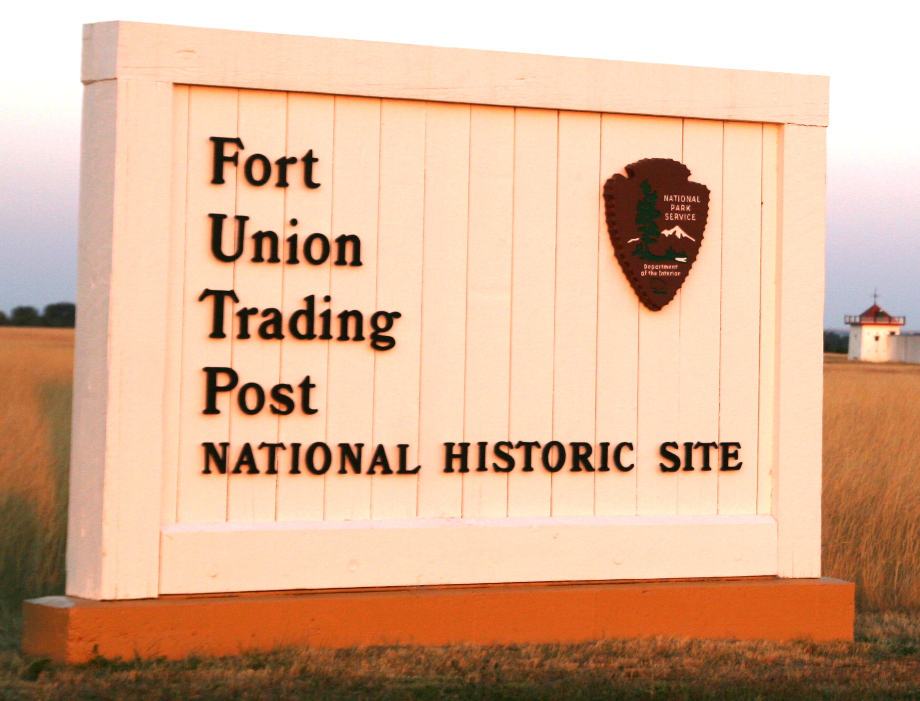 Fort Union Trading Post NHS Sign