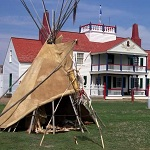 Bourgeois House and Tipi