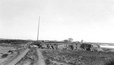 Fort Union site in 1937.