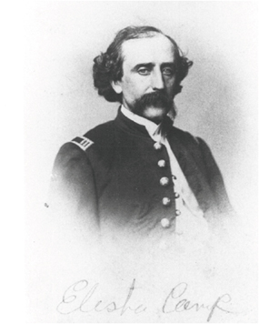 Profile photo of Elish Camp from the Civil War era