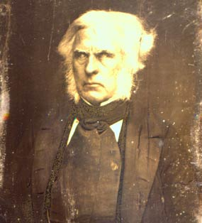 An image of Dr. John McLoughlin, Chief Factor at Fort Vancouver for many years