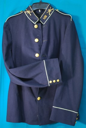 Army dress coat (blue) circa. 1900