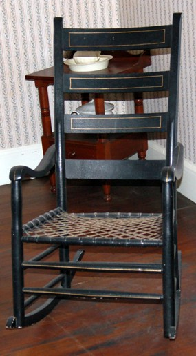 Dr. John Mcloughlin's rocking chair