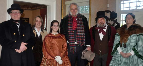 Costumed interpreters bring the McLoughlin House to life.