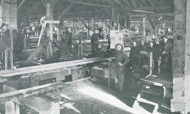 Vancouver's Spruce Mill