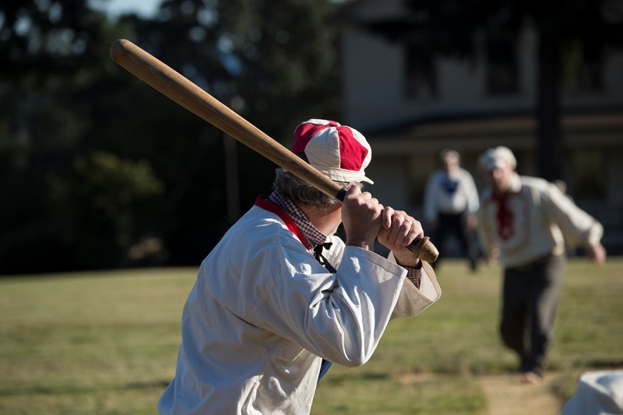 Vintage Base Ball at Fort Vancouver