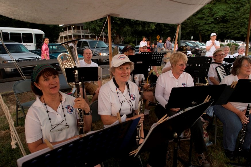 Vancouver Community Concert Band at Vintage Base Ball at Fort Vancouver