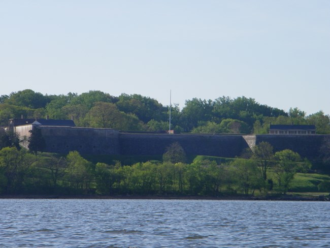 The Fort Washington that stands today was built from 1814 to 1824.