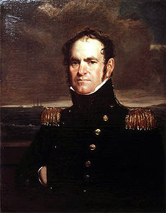 Commodore John Rodgers took control in the aftermath of the burning of Washington.