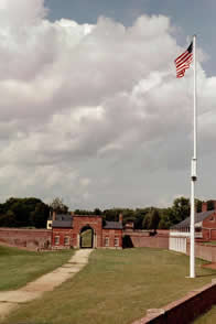 Photo of Fort Washington's parade ground