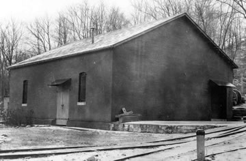 Torpedo Storehouse (Signal Corps photo)