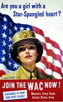 Recruitment Poster for the Women's Army Corps.