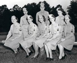 Photo of several of the Women who served at Fort Washington during World War II