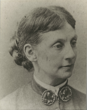 A photograph of Helen Douglass