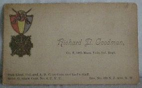 54th Mass Calling Card