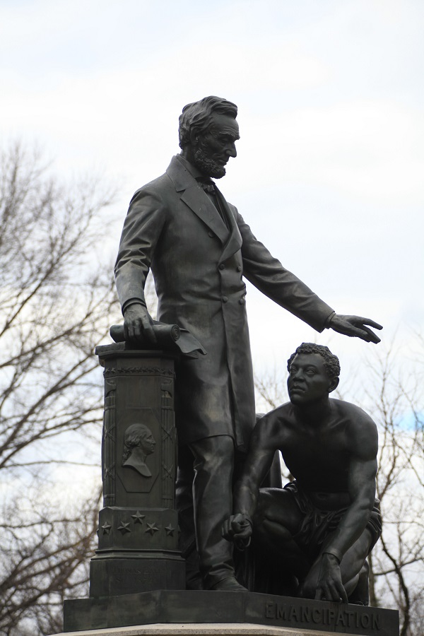 Lincoln Park Emancipation Statue