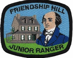 Friendship Hill Junior Ranger Patch
