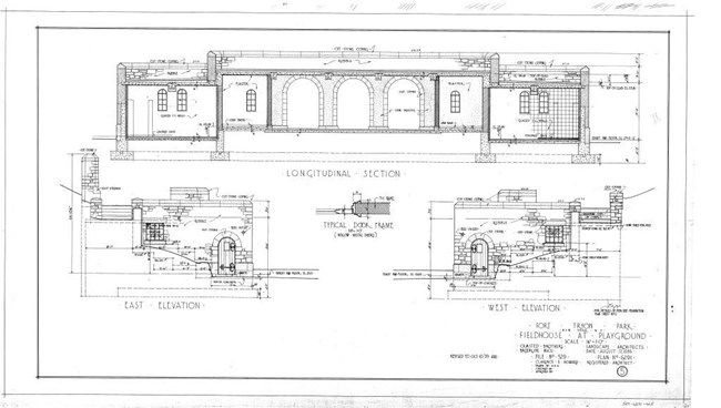 Fort Tryon Park: Architectural And Engineering Plans - Frederick
