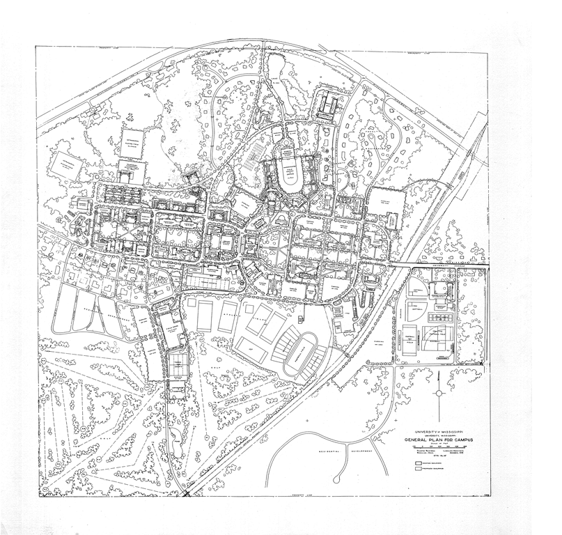 University of Mississippi General Plan