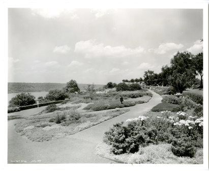 Fort Tryon Park after construction was completed.