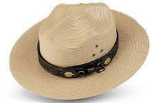 NPS Ranger straw hat