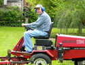 Mowing at Chatham